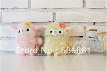 Little Sheep plush toy mobile phone bag / purse / small cosmetic bag 1 pcs(China (Mainland))