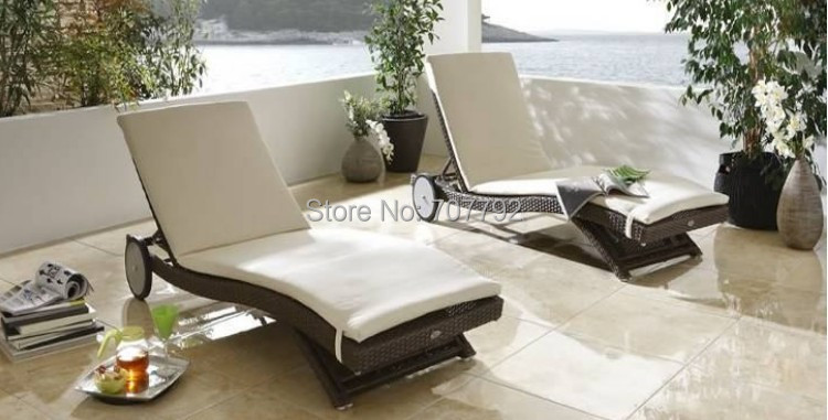 2015 Swimming Pool Outdoor Furniture Daybed Chaise Lounge