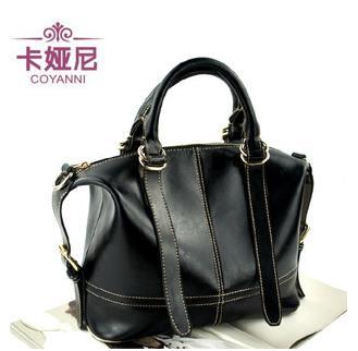 100% Genuine Leather Handbag Fashion Tote Handbag For Women Inclined Shoulder Bag<br><br>Aliexpress