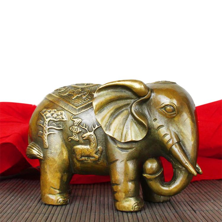 Compra elefante estatua de la india online al por mayor de for Elefantes decoracion feng shui