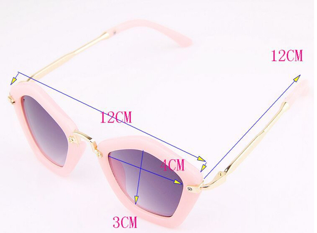 Детские солнцезащитные очки пентагон солнцезащитные очки мальчики девочки конфеты цветные очки солнцезащитные очки для детей подарки 5 colors lentes де золь