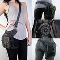 Vintage Retro Rock Gothic Steampunk Punk Men Women Handbag Waist Pack Shoulder Bag Coin Purse Leg