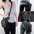 Vintage Retro Rock Gothic Steampunk Punk Men Women Handbag Waist Pack Shoulder Bag Coin Purse Leg