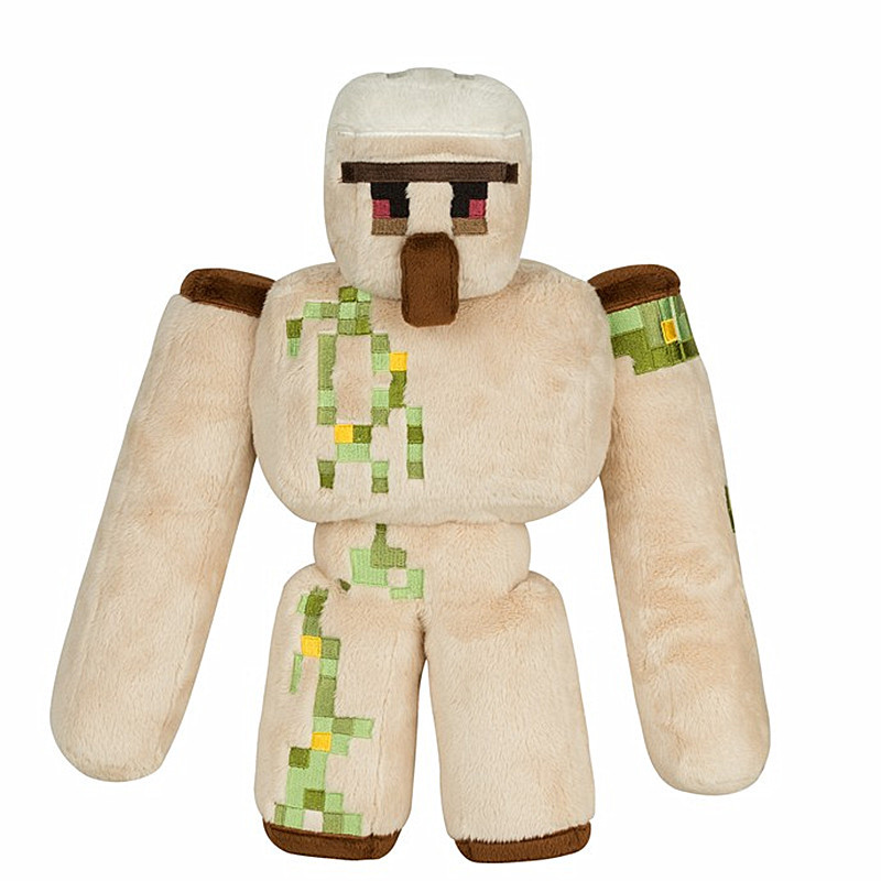 2016 New Minecraft Plush Toys 36CM Minecraft Iron Golem Plush Toy Doll Soft Stuffed Toys for Kids Children Christmas Gift(China (Mainland))