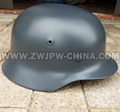 WWII German Army WW2 M35 Type Military Helmets Reproduction Gray Color DE 40702