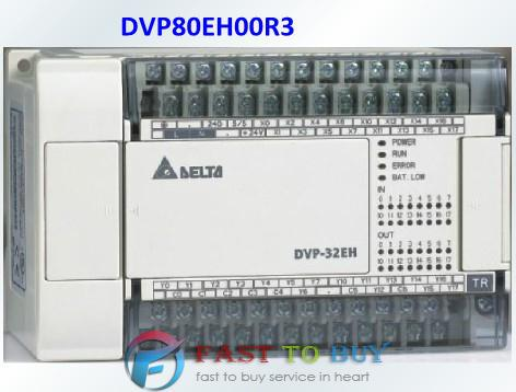 Delta PLC EH3 series DVP80EH00R3 80-point 40DI/40DO (relay) AC power New<br><br>Aliexpress