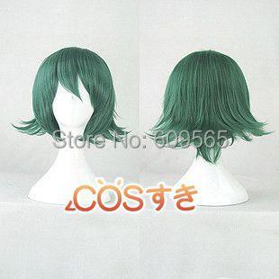 Free Shipping !2014!KILL la KILL Sanageyama Uzu Dark Green Short Cospay Wig<br><br>Aliexpress