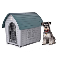 Fast Delivery Dog Kennel Removable Pet Kennel Outdoor Indoor Dog House Easy Build Up Puppy Dog Cat Hole Pet Supplies(China (Mainland))