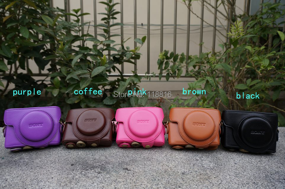 New Camera Leather Case Bag For Sony Cyber-shot DSC-RX100 III RX100 M3 RX100MIII RX100III(China (Mainland))