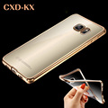 Luxury TPU Ultra Thin Crystal Clear phone Cases For Samsung Galaxy A3 S7 S6 edge case