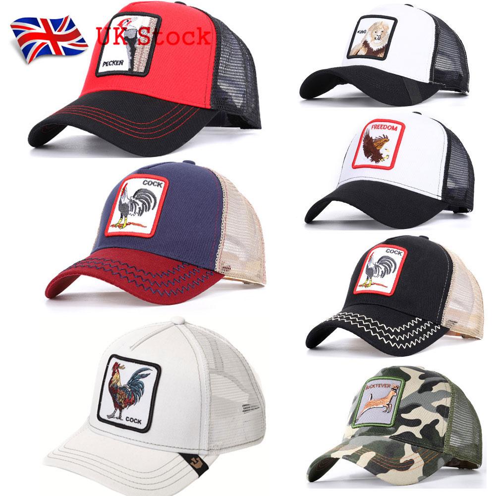 PACK Goorin Bros Snapback Trucker BASEBALL Hat Cap Adjustable Animal Farm