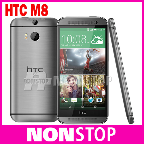 "Unlocked Original HTC One M8 Mobile phone 3G&4G WIFI Quad-Core 5.0"" Dual 4MP Camera 16GB/32GB ROM Android Cell phones(China (Mainland))"