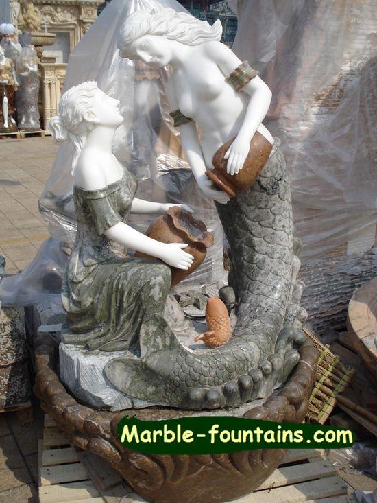 Sculpture fontaine de jardin promotion achetez des for Statue fontaine de jardin