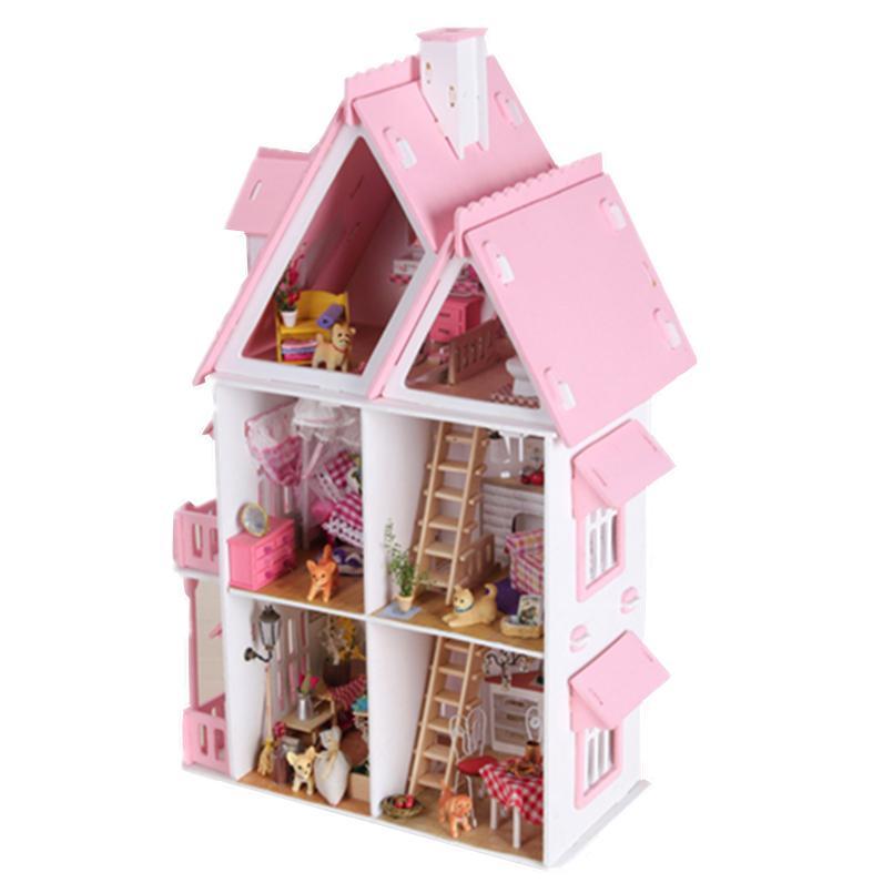 Кукольные домики из Китая