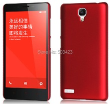 For Redmi Note Matte Hard Cases,New Rubber Hard Back Cover Case For Redmi Note(China (Mainland))