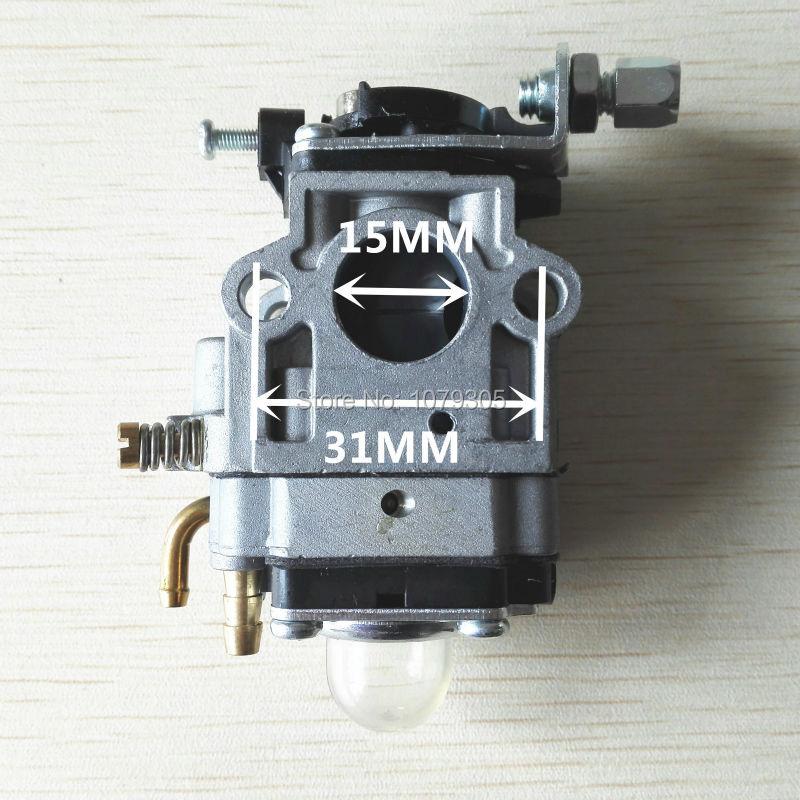 1E40F-5 деталя: tb43 кусторез карбюратор