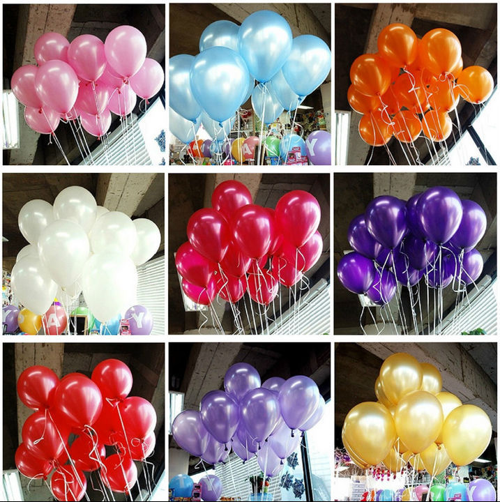 Buy hot sale 10inch 1 5g 100pcs lot latex for Where can i buy wedding decorations
