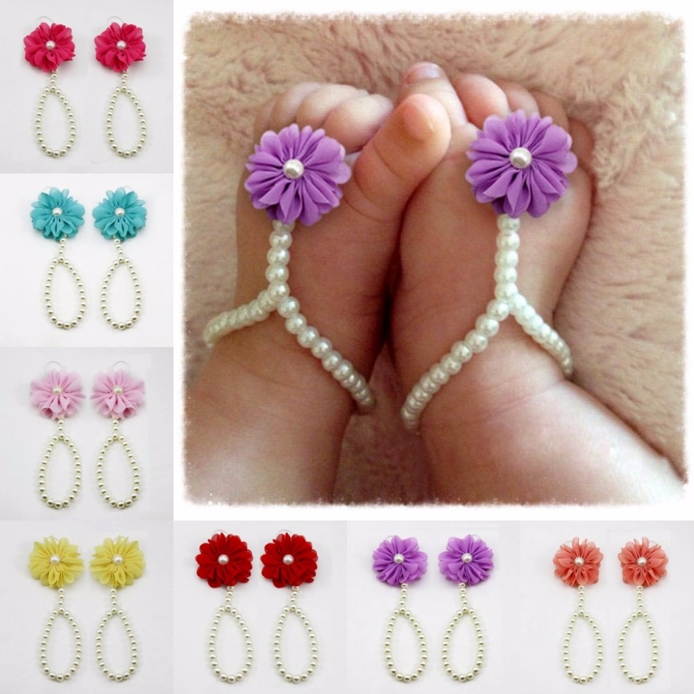 Pearl Baby Shoes Anklet Non-slip Footwear Crib Shoe Baby Boy Girl Baby Foot Accessories Baby Accessories(China (Mainland))