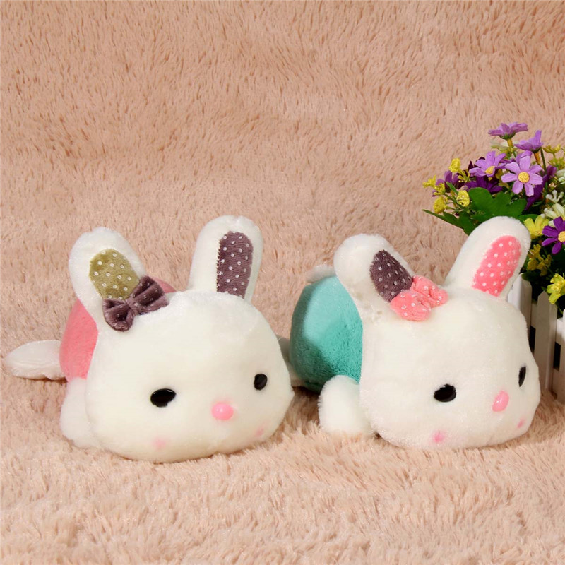 20cm Lovely Little Bunny Stuffed Rabbit Cute Plush Soft Toys Promotional Bunny Doll Rabbit Plush Toy for Kids Free Shipping(China (Mainland))