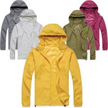 Summer Ultralight Outdoor Windproof UVproof Coat Clothing Women Jersey Men Hiking Windbreak Sportwear Jacket Running Clothes