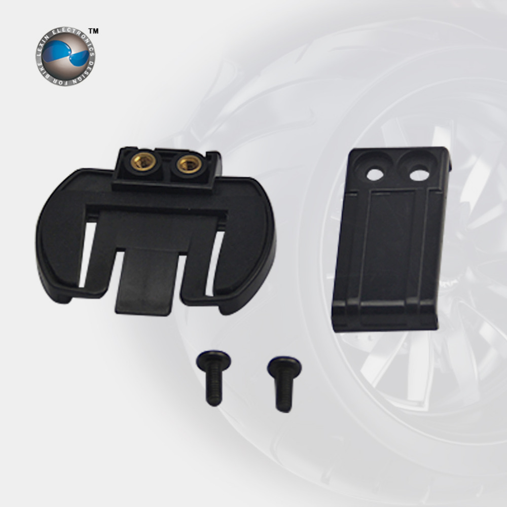 Free shipping 1 pcs Clip clamp Set Accessories for clamp LX-R6 1200M motorcycle Bluetooth Helmet Interphone Intercom