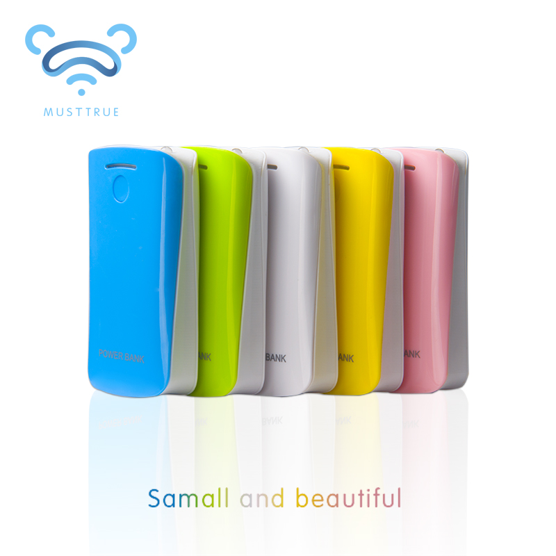 Musttrue 5600mAh Power Bank Universal Portable Charger& External Backup Powerbank battery universal For iphone Samsung(China (Mainland))