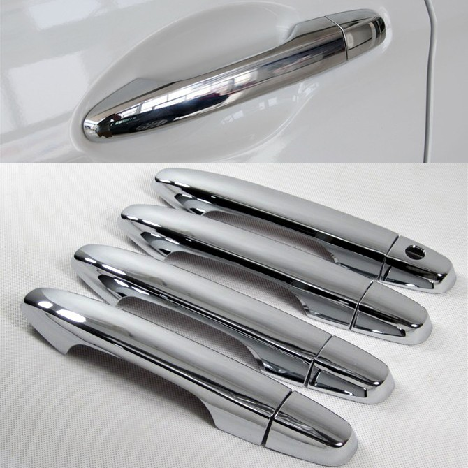 Honda CR-V CRV Civic 2012 2013 2014 2015 ABS Chrome Styling Side Door Handle Cover Decoration Trim - Auto Parts & Accessories store
