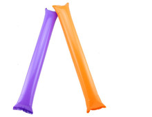 Hot sales 60pcs lot Cheering Balloon Stick Inflatable Toys Foil Balloon Cheering Pom Pom Prop 2015
