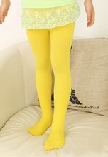 HOT SALES Baby Girls Candy Color Trousers Velvet Pantyhose Underpants Age 5 12T
