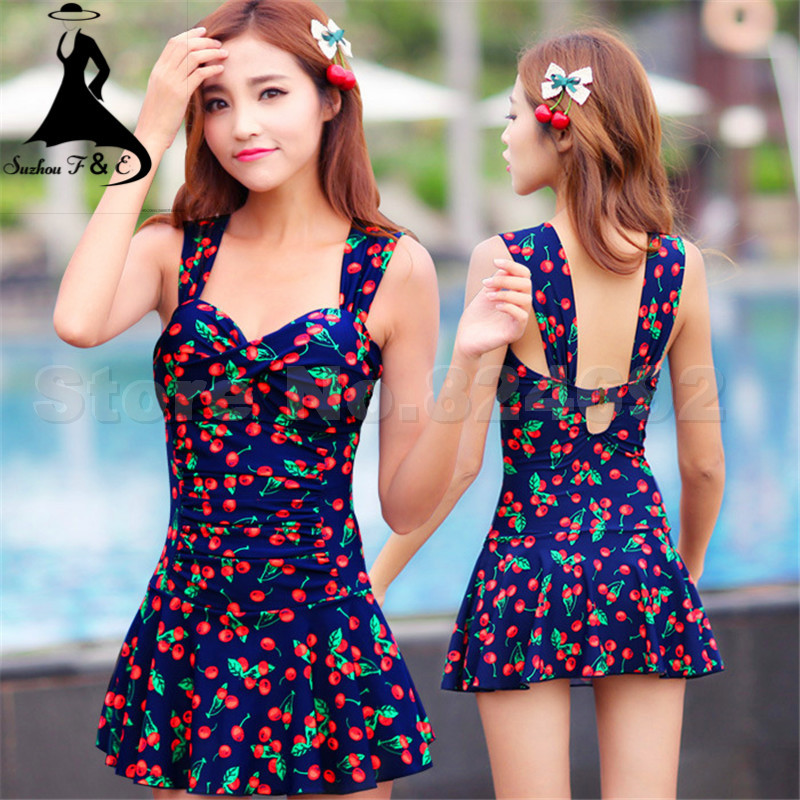 Woman Swimsuit One Piece 2015 Summer Style Sexy Floral ...