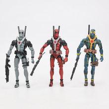 15cm super-herói deadpool com armas deadpool móvel pvc action figure brinquedo(China)
