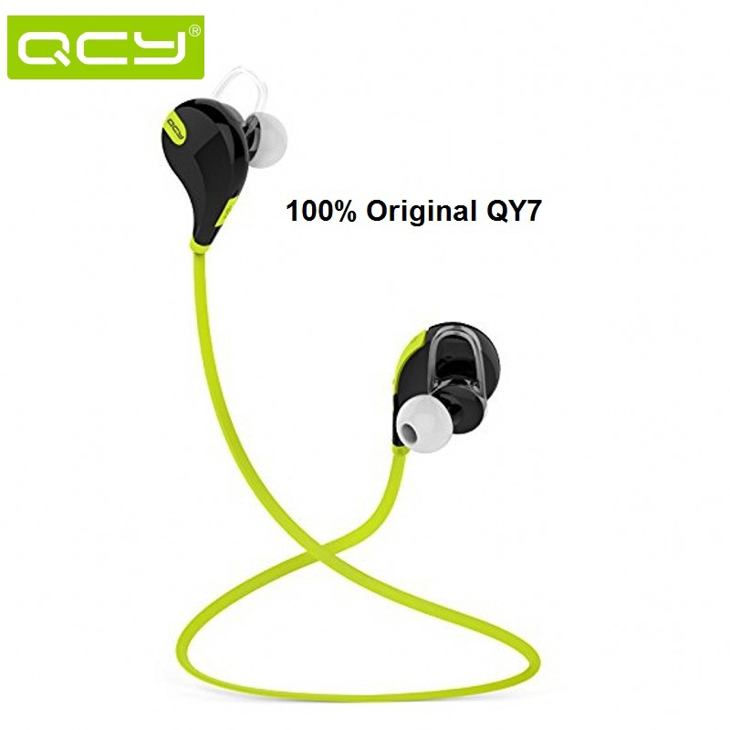 QCY QY7 Bluetooth Handsfree Headset Wireless Sport Running Headphones Stereo Music Bass Earphones Fone de ouvido With Microphone(China (Mainland))