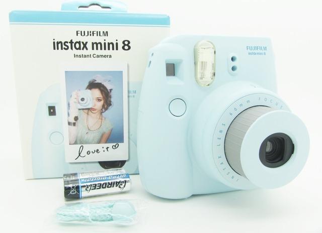 Бесплатная доставка Fujifilm Instax мини 8 мгновенных фильм фото камеры желтый сине-бело-черный розовый фиолетовый бесплатная доставка подарок
