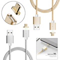 Moizen M2S Magnetic Android Micro USB Plug Charger Adapter Charge Cable Metal Adapter for Samsung Xiaomi