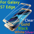 New S7 Edge 9H 3D Full Cover Tempered Glass For Samsung Galaxy S7 Edge G9350 5