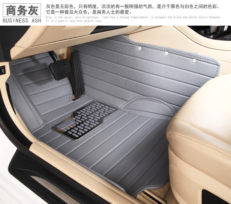 newfull covered special Car mats XPE waterproof floor carpets suit Renault fluence Scenic Laguna Talisman Koleos - V STAR E-COMMERCE store
