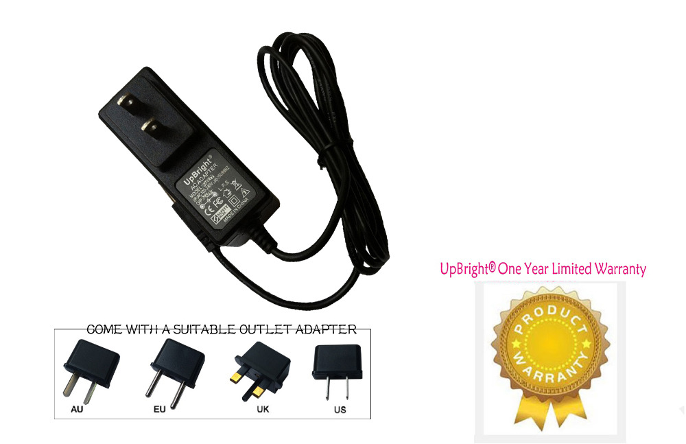 UpBright NEW AC/DC Adapter For Chicago Electric Power Systems 3 in 1 Jump Start Air Compressor Power 08884 Jump Starter Recharge(China (Mainland))