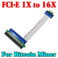 2016 PCI E 1X 16X Flexible Extension PCI Express 1 to 16 X Adapter PCI E