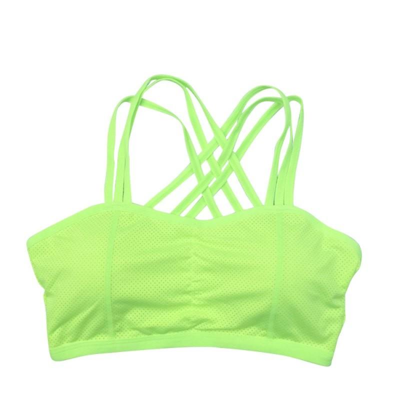 9c8b57917aca1 2019 Outdoor Women Sports Breathable Comfort Bra Workout Yoga ...