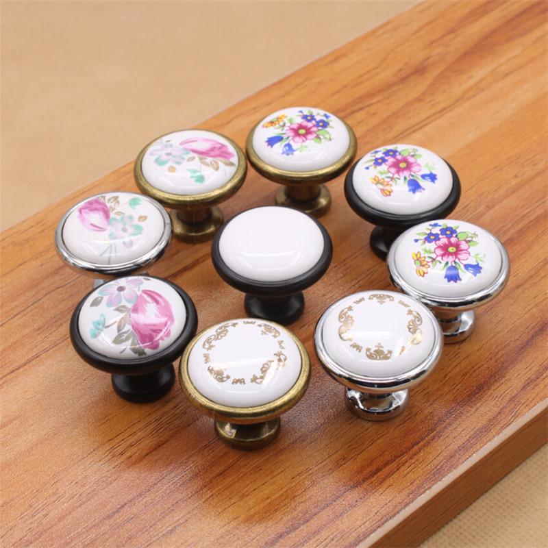 Achetez en gros poign e de tiroir de la commode en ligne - Tiradores de porcelana ...