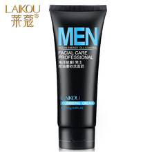 Buy LAIKOU Men Facial Cleanser Oil-Control Deep Cleansing Scrub Skin Care Cleanser Whitening Acne Blackhead Exfoliating Cleanser for $3.13 in AliExpress store
