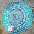 New 150cm Indian Vintage Round Tapestry Wall Hanging Tablecloth Beach Throw Towel Yoga Mat Boho Beach