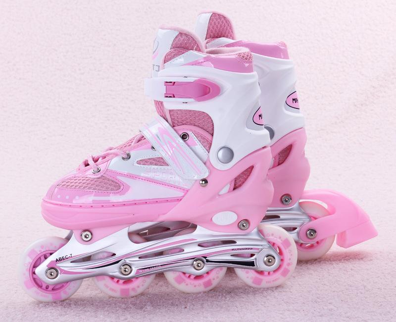 Adjustable Inline Skates Shoe Size