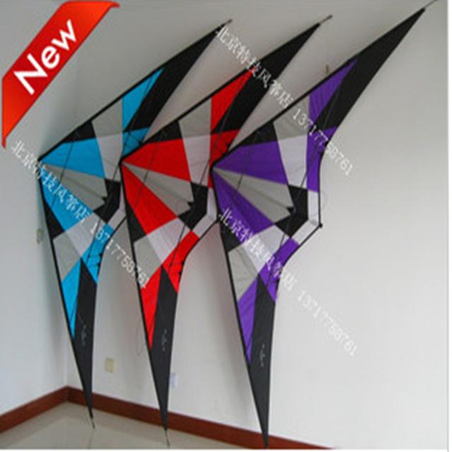 Free shipping 2.7m stunt kite,40D nylon power kite