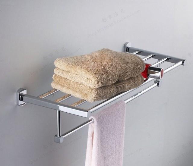 Купить Ванной из нержавеющей стали 304 площадь полотенцесушитель стойки банный халат полка 01 022