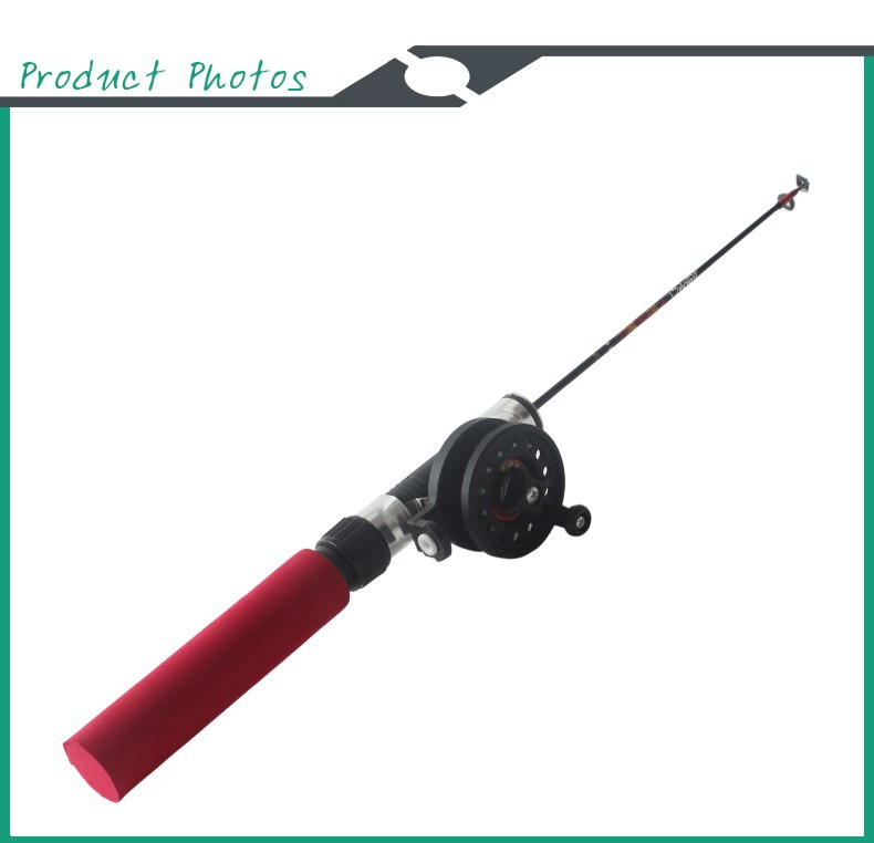 Fishing rod for ice shrimp telescopic mini portable ice for Ebay ice fishing