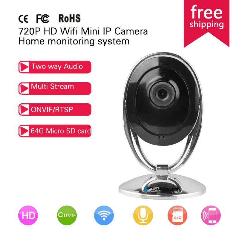 Vstarcam C93 Mini Wifi IP Camera Wireless 720P Smart P2P Baby Monitor Network CCTV Security Home Protection Mobile Remote Cam(China (Mainland))