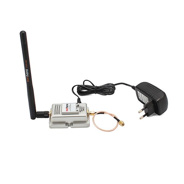 2pcs/ Lot 100% Original Sunhans 2000mW (33dBm) 802.11b/g/n 2.4GHz WiFi Signal Booster Amplifier Repeater(China (Mainland))
