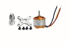 F02047 A 2212 A2212 1400KV Brushless Outrunner Motor W/ Mount 10T,RC Aircraft/KKmulticopter 4axle Quad copter UFO +FS(China (Mainland))