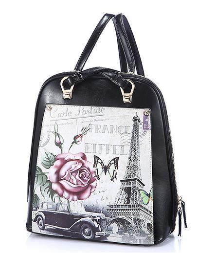 2015 new arrival casual womens women bag printing backpack Designer designer handbags high quality Womens Bags bag ladies J283<br>